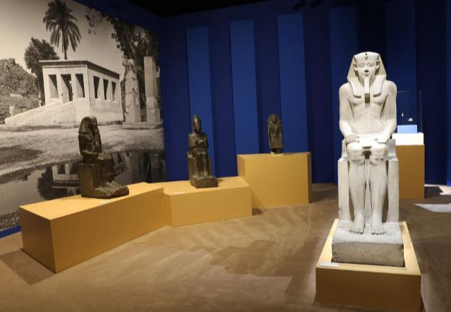 Exposition L'Or des Pharaons